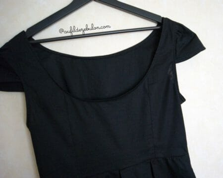 Ma petite robe noire AuFildeZebulon
