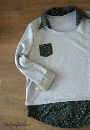 Pull chemise AuFildeZebulon