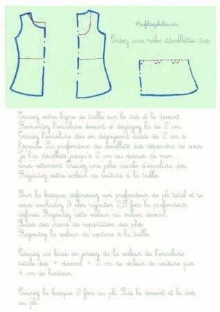créez une robe décolletée dos1_AuFildeZebulon