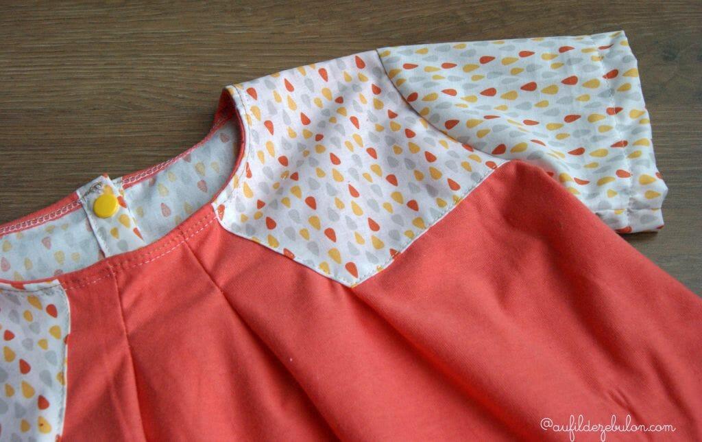 Réaliser une tunique avec différents tissus