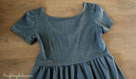 robe jersey décolletée dos bijoux alu AuFildeZebulon.com