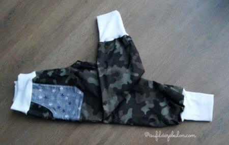 une tenue en chutes de tissus AuFildeZebulon