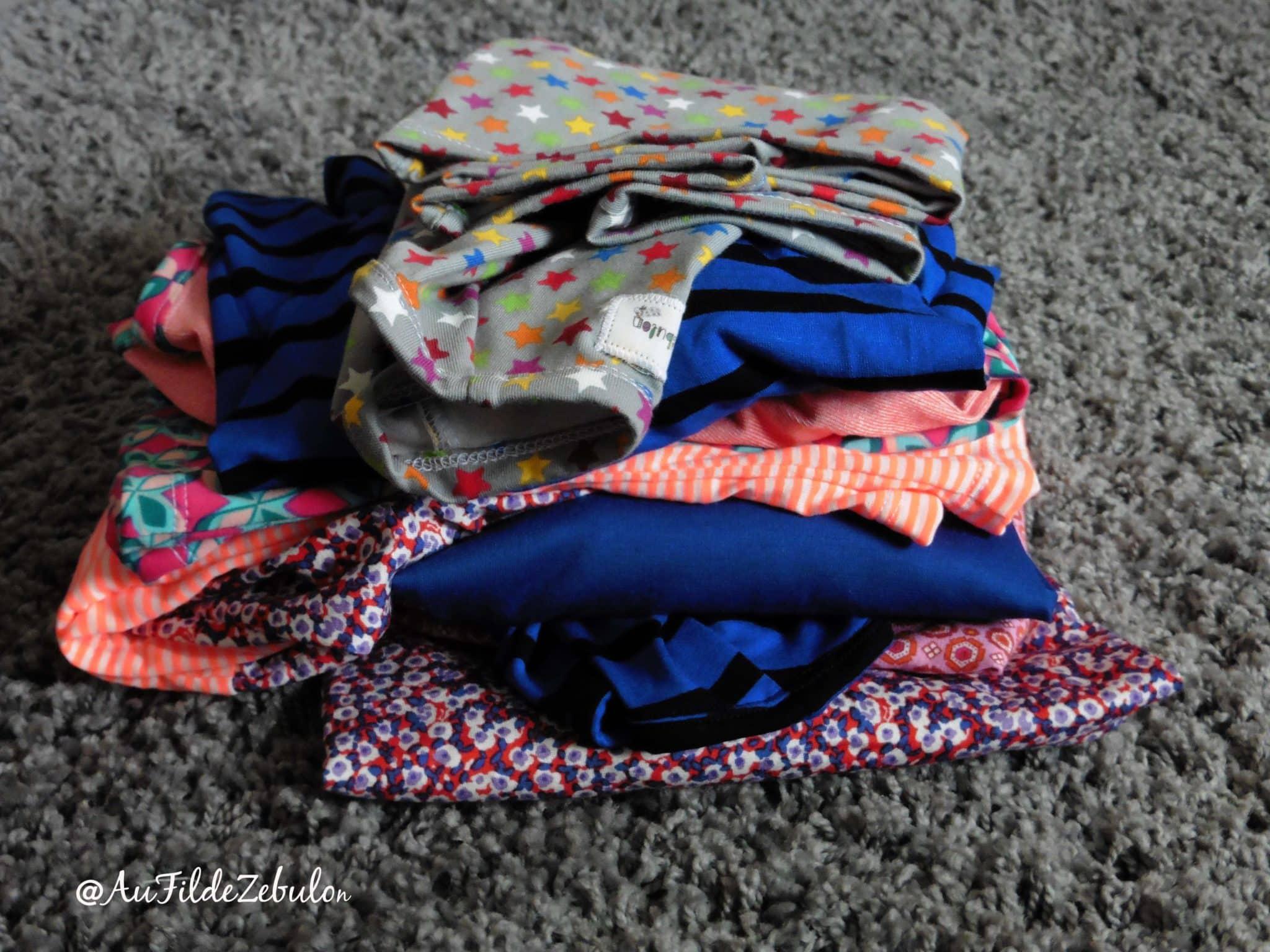Déclinaison de tee shirts